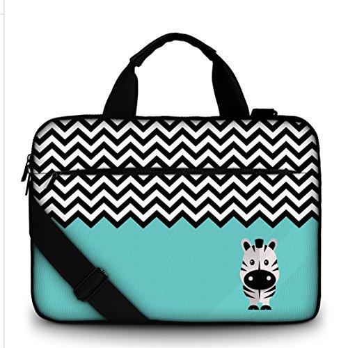 Sidorenko 15-15,6 Zoll Laptoptasche | Laptop Umhängetasche - Computer - Notebook-Schultertasche aus Canvas Schmutz- und Wasserabweisend | Notebook-Tasche mit Außentasche für Zubehör