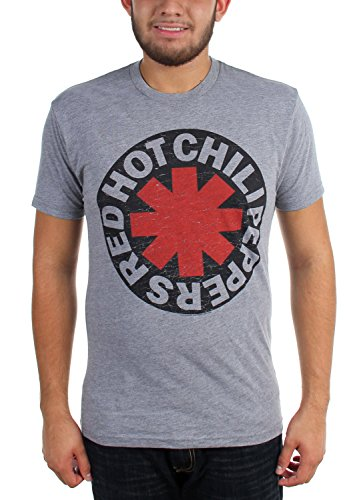 Red Hot Chili Peppers - Herren Asterisk T-Shirt Grey