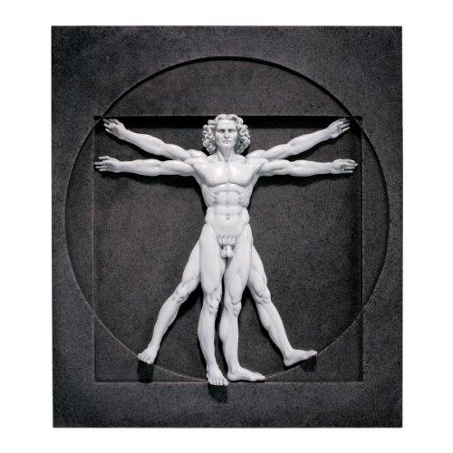 Design Toscano Der Vitruvianische Mensch, Wandfigur