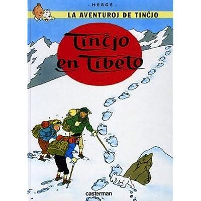 Tintin au Tibet : Version esperanto
