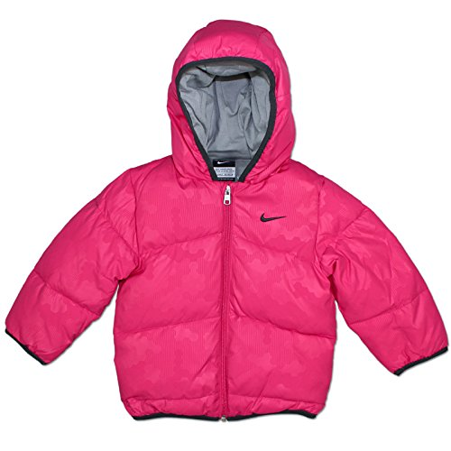 NIKE BABY KINDER PADDED JACKE WINTERJACKE MÄDCHEN WARM GEFÜTTERT PINK , Größe:98 (24-36 Monate);Farbe:Pink (Jungen Winter Nike Mäntel)