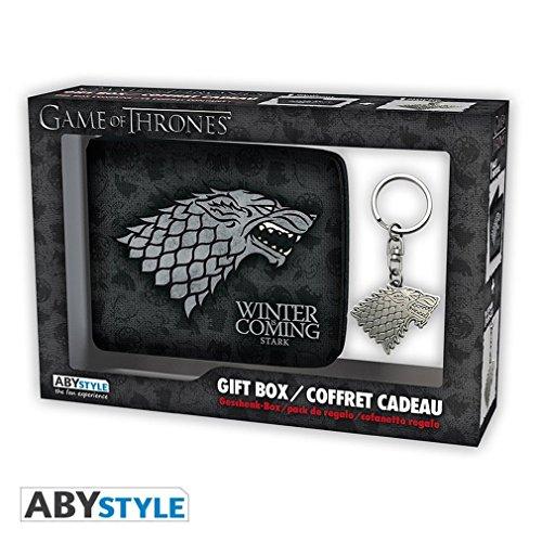ABYstyle abypck111–Game Of Thrones Monedero con llavero Stark