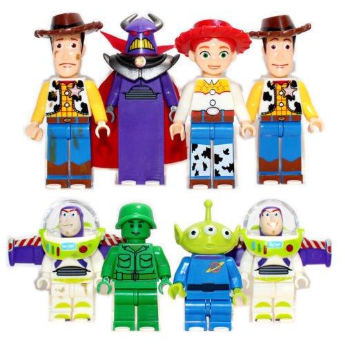 8-teiliges Set Mini Figuren Woody Buzz Lightyear (Toy Story Buzz Lightyear)