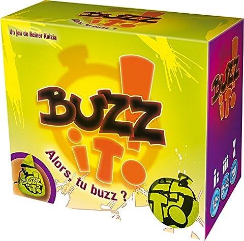 Asmodee - BUZ01 - Jeu d'ambiance - Buzz it