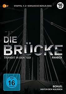 Die Brücke - Transit in den Tod - limitierte Fanbox (Staffel 1-3 + Bonus-Disc) (exklusiv bei Amazon.de) [Blu-ray]