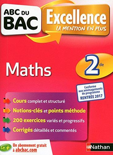 ABC du BAC Excellence Maths 2de