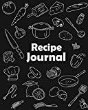 Recipe Journal: (Recipe Journal Vol. A11) Glossy Cover, (Size 8