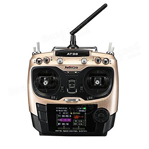 Preisvergleich Produktbild Frontier RadioLink AT9S 2.4GHz 10CH Upgrade Sender mit R9DS DSSS & FHSS Empfänger