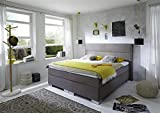 Breckle Boxspringbett 180 x 200 cm Castillo Box Mero Easy Big Bonnell Topper Gel Standard