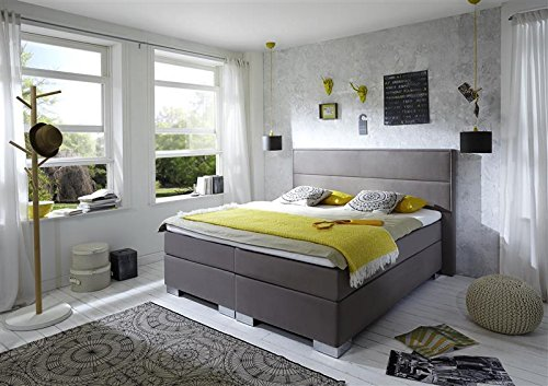 Breckle Boxspringbett 120 x 200 cm Castillo Box Elektro Inspiration Hollanda TFK Topper Gel Comfort