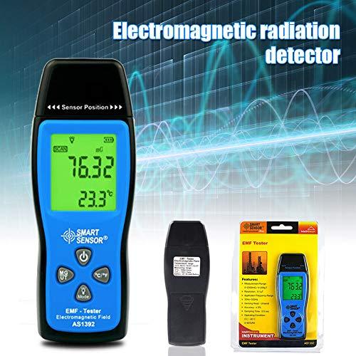 Liamostee Elektromagnetisches Feld Strahlungsdetektor Handheld EMF-Detektor Digital LCD Radiation Meter Test Tool