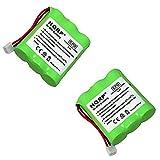 Best Téléphones sans fil HQRP - HQRP Paque DE 2 Batteries pour at&T 1140 Review