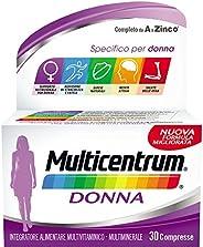 Multicentrum Donna Multivitaminico, Confezione da 30 Pezzi