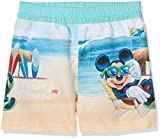 Mickey Mouse Jungen Badehose Sailor Mickey, Turquoise (Turquo 469), 4 Jahre