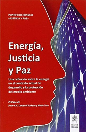 Energía, justicia y paz. Una reflexíon sobre la energía en el contextoactual de desarrollo y la proteccíon del medio ambiente