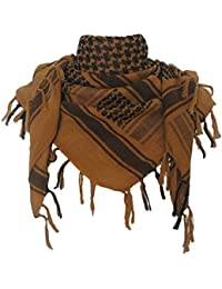 Explore Land 100% algodón Shemagh militares Desert Tactical Keffiyeh bufanda abrigo ( Coyote Brown)