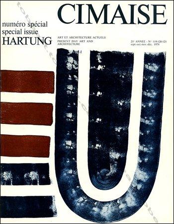 Cimaise. n° 119-120-121. septembre-decembre 1974. numero special : hartung