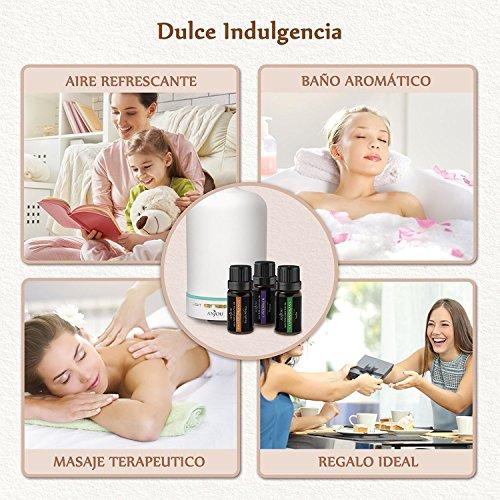 Aceites Esenciales Aromaterapia Anjou set de 6 * 10ml,...