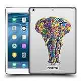 Head Case Designs Offizielle P.D. Moreno Elefant Tiere Ruckseite Hülle für iPad Air (2013)