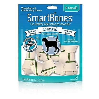 Smart bones Dental Dog Chew, Mini, 8-Pieces 1