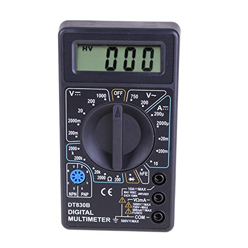 dt-830b LCD Digital Multimeter AC/DC 750/1000?V Amp Volt Ohm Tester Meter Induktive Spannung Detektor