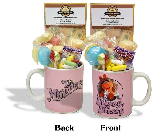 Miss Piggy Muppets Mug with a muppet portion of 70's Sweeties