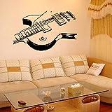 Hongrun Peintures murales de guitare créatif personnalisé 57*100cm chambre