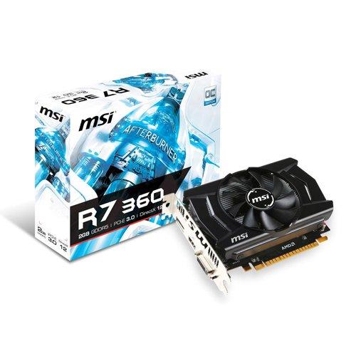 MSI 912-V809-1863 - Tarjeta gráfica (VGA R7 360 2GD5 2 GB GDDR5)