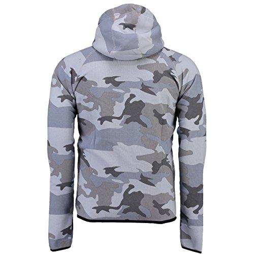 Geographical Norway -  Felpa con cappuccio  - Uomo Camouflage Darkgrey