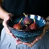 Creative Pottery Bowl Home Geschirr Obstsalat/Pasta / Getreide/Snack / Ramen Suppenschüssel