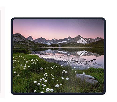 Lake Grass Reflection Landscape Mountain Mouse Pad Anti-Slip Portable Gaming Mouse Mat - Lake Grass