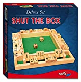Noris Spiele 606108013 - Deluxe Shut the box, Partyspiel