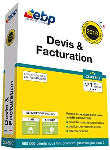 EBP Devis & Facturation Classic + VIP - Dernière version - Ntés Légales incluses