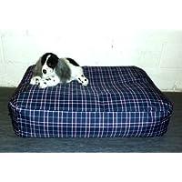 Zippy Waterproof Bean Bag Pet Dog Bed - Extra Large - Tartan Beanbag