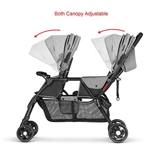 Besrey – Zwillingskinderwagen - 4