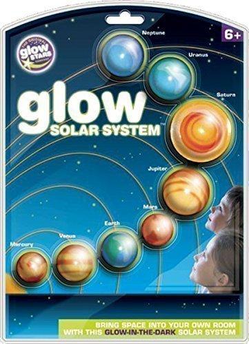 Glowstars Niños Actividad Habitación Brillo Sistema Solar Infantil Pared Educacional Pegatina