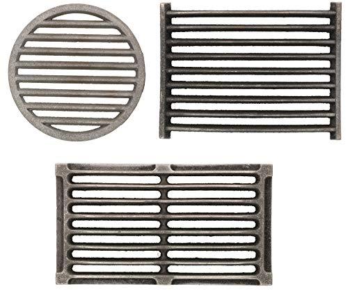 Kotarbau - Rejilla para chimenea, diferentes tamaños y formas, accesorio de repuesto, rejilla de horno...
