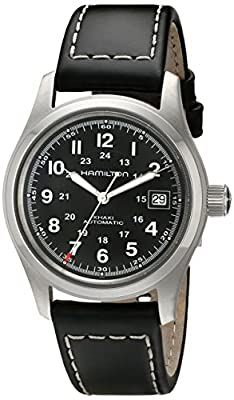 Hamilton Men's Analogue Automatic Watch with Leather Strap H70455733