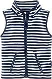 Playshoes Jungen Weste Fleeceweste Maritim gestreift, Oeko-Tex Standard 100, Blau (Marine/weiß 171), 98