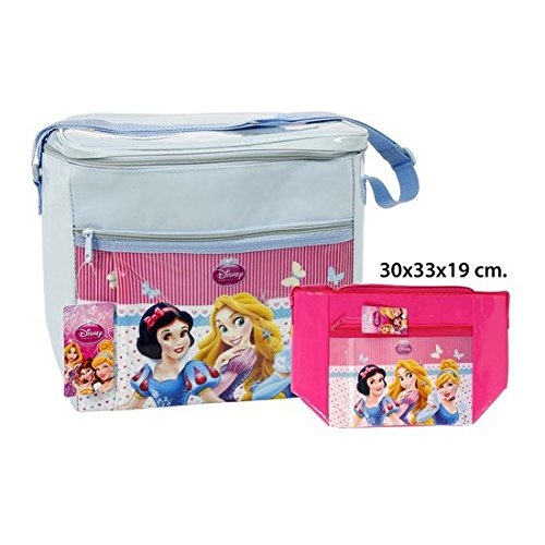 Disney - borsa frigo assortiti, - princess-, 30 x 33 x 19.