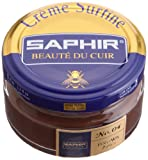 Saphir Crema Surfine Betún para calzado 50 ml - (04) MARRÓN, 50 ml