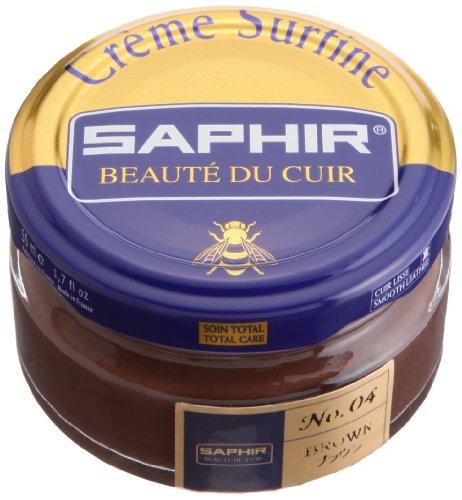 Saphir Creme Surfine Schuhcreme 50 ml - (04) BRAUN, 50 ml