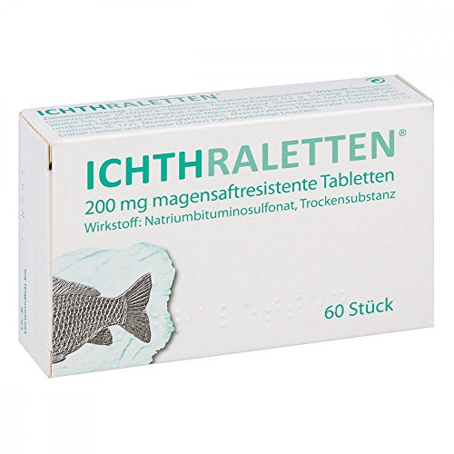 Ichthraletten magensaftresistente Tabletten 60 stk
