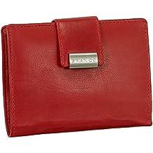 a81e89da19fc3 Luxus Leder Damen Geldbörse Portemonnaie Geldbeutel XXL mit Druckknopf 10  cm vers. Farben