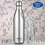 Ecooe Thermosflaschen 750 ml doppelwandig