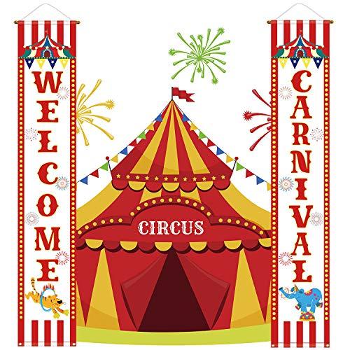 - Zirkus Party Supplies Dekoration