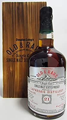 Laphroaig - Old & Rare Platinum Single Cask - 1989 21 year old Whisky