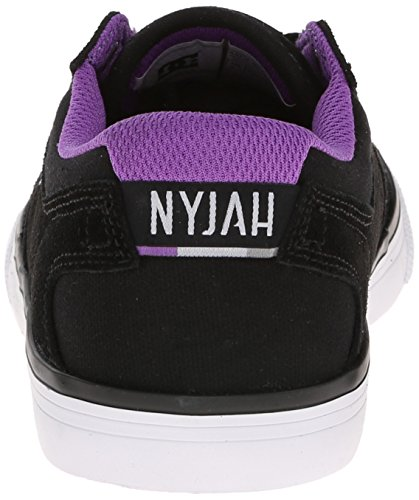 DC Shoes Nyjah Vulc, Baskets Mode Femme Noir (Black)