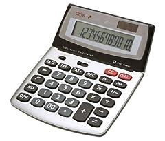 Genie 560 12-stelliger Design-Tischrechner  Dual-Power
