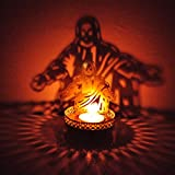 BrassLine Shadow Jesus Christ Tea Light ...